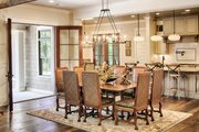 Country Style House Plan - 4 Beds 4.5 Baths 5582 Sq/Ft Plan #928-320 Interior - Dining Room