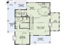 Cottage Floor Plan - Main Floor Plan Plan #17-2544