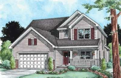 Traditional Exterior - Front Elevation Plan #20-1775 - Houseplans.com