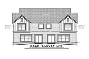 Traditional Style House Plan - 6 Beds 5.5 Baths 4128 Sq/Ft Plan #20-2466
