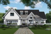 Farmhouse Style House Plan - 4 Beds 3.5 Baths 2751 Sq/Ft Plan #51-1140 Exterior - Front Elevation
