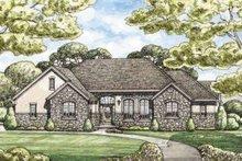 Dream House Plan - European Exterior - Front Elevation Plan #20-1844