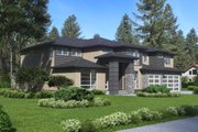 Modern Style House Plan - 4 Beds 3 Baths 3315 Sq/Ft Plan #1066-82 Exterior - Other Elevation