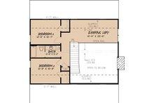 Country Floor Plan - Upper Floor Plan Plan #923-40
