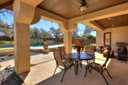 Mediterranean Style House Plan - 5 Beds 4 Baths 3585 Sq/Ft Plan #80-221 Exterior - Outdoor Living