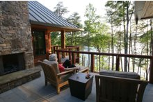 Outdoor Living space designed by Sarah Susanka