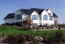 House Design - Farmhouse Exterior - Rear Elevation Plan #70-538