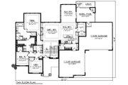 Ranch Style House Plan - 5 Beds 3.5 Baths 4406 Sq/Ft Plan #70-1502 Floor Plan - Main Floor Plan