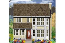 House Plan Design - Farmhouse Exterior - Front Elevation Plan #3-197