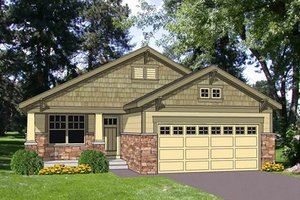1200sft craftsman bungalow with stone details