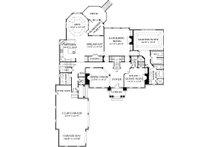 Colonial Floor Plan - Main Floor Plan Plan #453-27