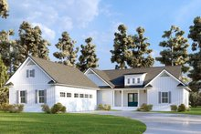 Home Plan - Farmhouse Exterior - Other Elevation Plan #437-126