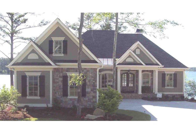 House Plan Design - European Exterior - Front Elevation Plan #1054-51