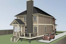 Dream House Plan - Cottage Exterior - Other Elevation Plan #79-251