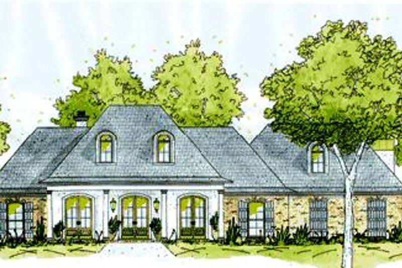 House Design - European Exterior - Front Elevation Plan #36-443