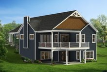 Craftsman Exterior - Rear Elevation Plan #1057-9