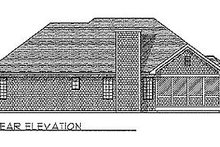 Traditional Exterior - Rear Elevation Plan #70-162