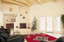 House Blueprint - Adobe / Southwestern Photo Plan #72-145