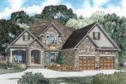 European Style House Plan - 3 Beds 3 Baths 3202 Sq/Ft Plan #17-2447