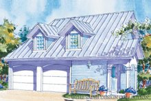Home Plan - Country Exterior - Front Elevation Plan #930-83