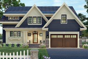 Craftsman Exterior - Front Elevation Plan #51-1173