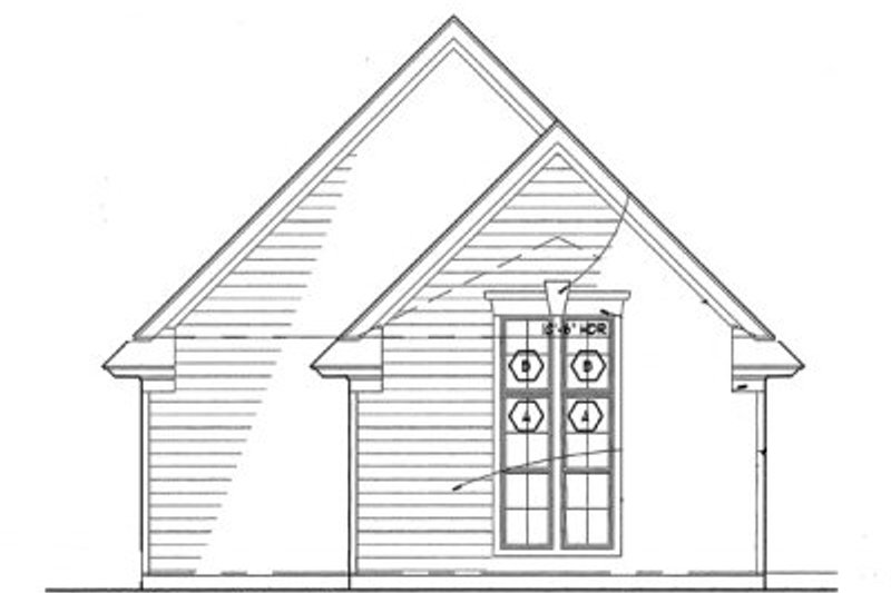 Country Exterior - Other Elevation Plan #120-147 - Houseplans.com
