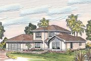Traditional Style House Plan - 3 Beds 2.5 Baths 2050 Sq/Ft Plan #124-242 Exterior - Other Elevation