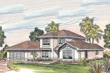 Traditional Exterior - Other Elevation Plan #124-242