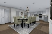Farmhouse Style House Plan - 4 Beds 2.5 Baths 3356 Sq/Ft Plan #1060-1 Interior - Dining Room