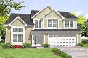 Farmhouse Exterior - Front Elevation Plan #50-246