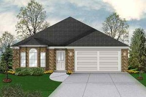 Traditional Exterior - Front Elevation Plan #84-108