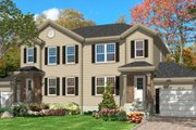 Traditional Style House Plan - 3 Beds 1.5 Baths 2428 Sq/Ft Plan #138-240 Exterior - Front Elevation