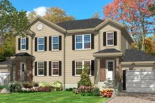 House Plan Design - Traditional Exterior - Front Elevation Plan #138-240