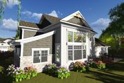 Craftsman Style House Plan - 4 Beds 3.5 Baths 2486 Sq/Ft Plan #70-1249 Exterior - Rear Elevation