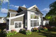 Dream House Plan - Craftsman Exterior - Rear Elevation Plan #70-1249