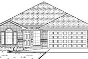 Traditional Style House Plan - 4 Beds 2 Baths 1717 Sq/Ft Plan #84-333 Exterior - Other Elevation