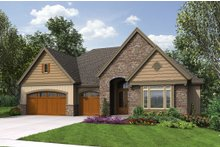 House Plan Design - Craftsman Exterior - Front Elevation Plan #48-658