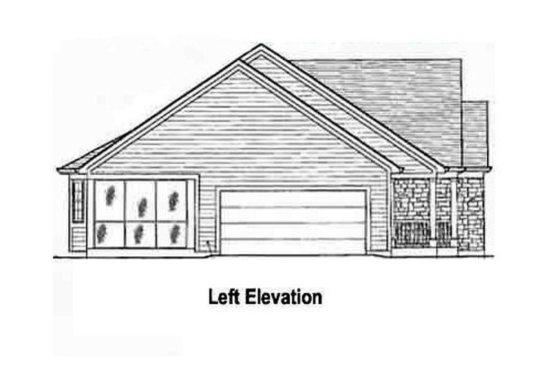 Country Exterior - Other Elevation Plan #46-106 - Houseplans.com