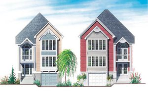 Traditional Exterior - Front Elevation Plan #23-2004