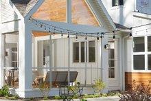 Farmhouse Exterior - Covered Porch Plan #928-308