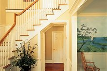 Architectural House Design - Southern Interior - Entry Plan #137-174