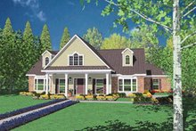 Traditional Exterior - Front Elevation Plan #36-218
