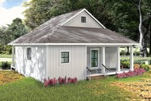 Home Plan - Farmhouse Exterior - Rear Elevation Plan #44-222