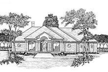 Home Plan - European Exterior - Front Elevation Plan #36-200
