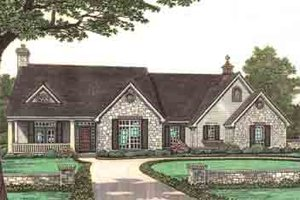 Traditional Exterior - Front Elevation Plan #310-241