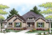 Craftsman Style House Plan - 2 Beds 2.5 Baths 2107 Sq/Ft Plan #70-918 Exterior - Front Elevation