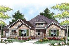 Home Plan - Craftsman Exterior - Front Elevation Plan #70-918