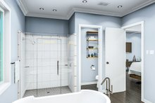 Cottage Interior - Master Bathroom Plan #406-9657