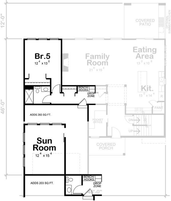 Dream House Plan - Traditional Floor Plan - Other Floor Plan #20-2403
