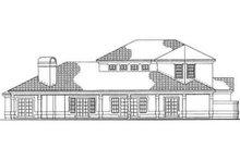 Adobe / Southwestern Exterior - Rear Elevation Plan #72-220